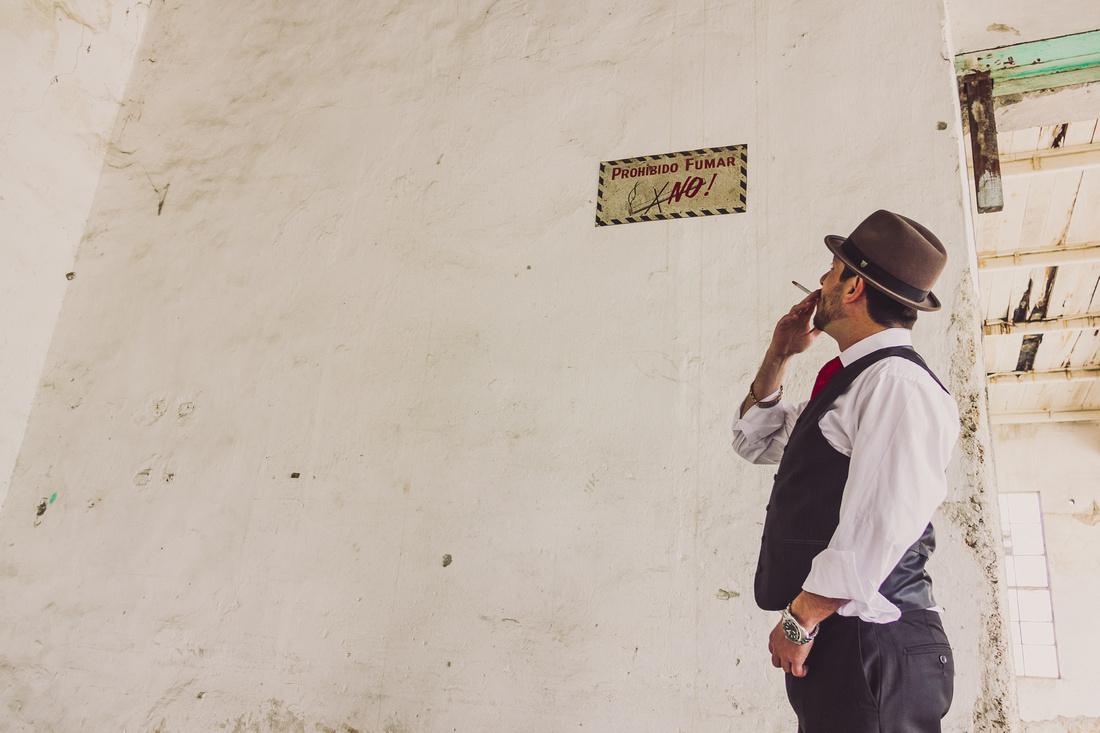 Sesión Casual de Novios - Vintage - Ale Valero y Raul para Angel Garcia Fotografía