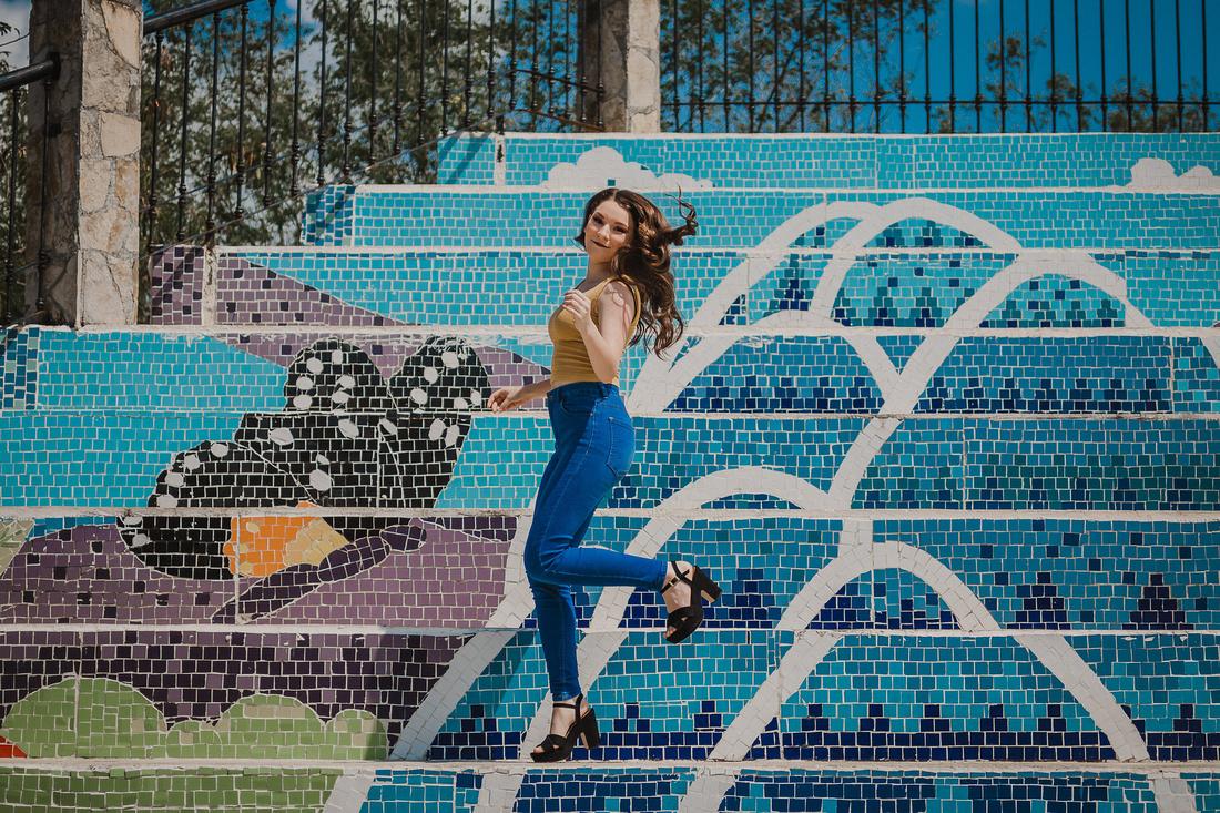 Casual XV - Camila por Angel García Fotografía Locación Santiago Nuevo León