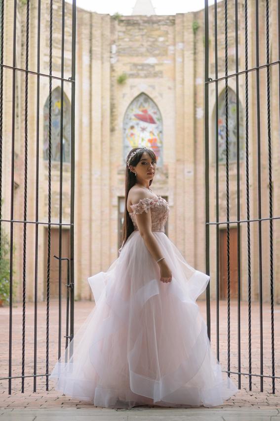 Sofy XV Formal por Angel García Fotografía Monterrey México. Escuela Superior de Música y Danza de Monterrey - La Superior ESMDM