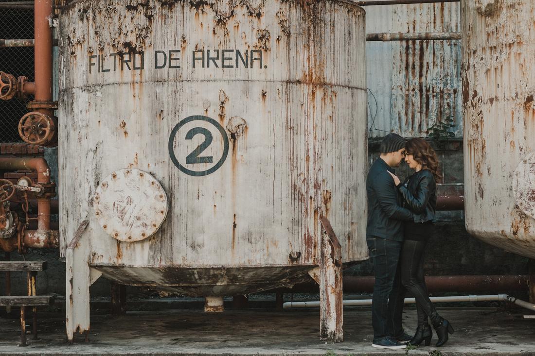 Lili Benavides & Omar Vigueras - Sesión Casual para Angel García Fotografia